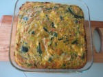 Carrot, zucchini and bacon frittata by Stafford Naturopath